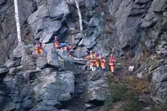Tödlicher Kletterunfall im Erzgebirge