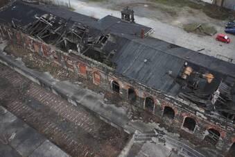 Die traurigen Reste des Alten Leipziger Bahnhofs