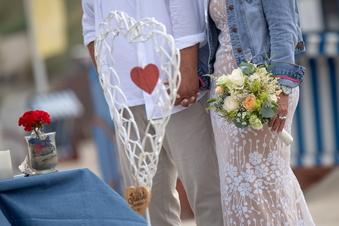 Hochzeitsfeiern sind derzeit passé