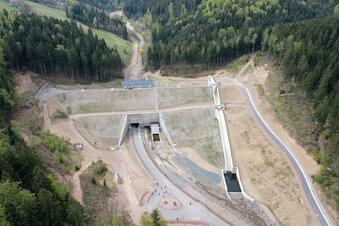 So funktioniert der Damm im Pöbeltal