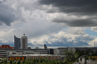 Bombendrohung in Leipzig