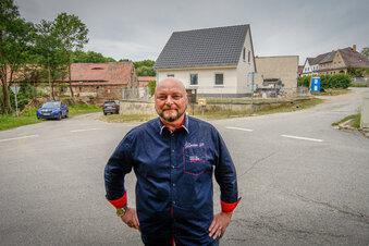 Neue Straße für ein kleines Dorf