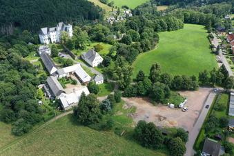 Siedlungsplan am Bärensteiner Schloss