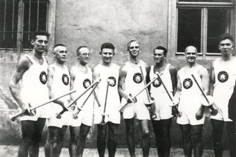 Das olympische Feuer in Großenhain