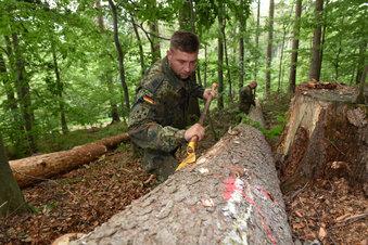 Bundeswehr verlässt Sachsens Wälder