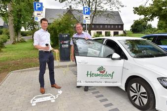 Neue Stromtankstelle in Hermsdorf/E.