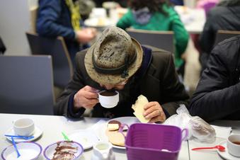 Obdachlose im Abseits