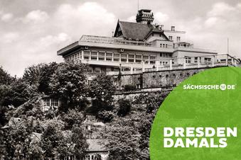 Tragische Nacht auf dem Balkon Dresdens