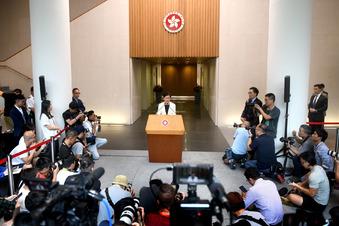 Hongkong zieht Auslieferungsgesetz zurück