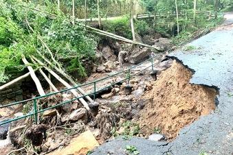 SOE: Unwetter zerstört den Hirschgrund