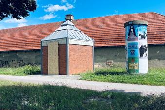Vandalismus am Klohäuschen
