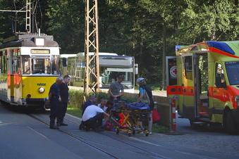 Bad Schandau: Radfahrerin stürzt im Kirnitzschtal
