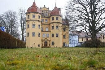 Schlosshotel wird renoviert