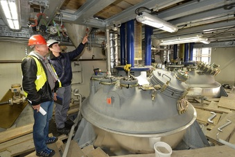Havarierte Chemie-Anlage neu aufgebaut
