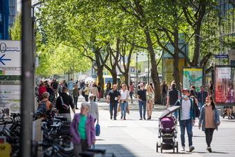Dresden: Kunden sind noch nicht zurück in der Innenstadt