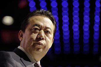 China nimmt Ex-Interpol-Chef fest