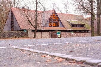 Neues Eingangshaus für Wildgehege Moritzburg