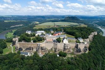 Festung Königstein bleibt im Lockdown