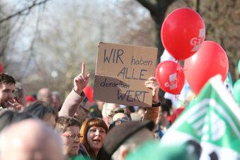 Sachsens Gewerkschaften kämpfen um Rentner