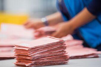 AfD bei Briefwahl deutlich schwächer