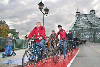 Kein roter Teppich für Radfahrer