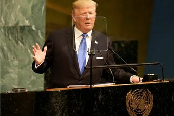 Trump gibt UN-Debüt