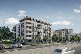 Neue Wohnungen an der Freiberger Straße