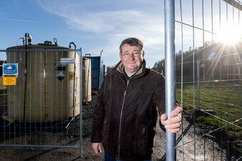 Die neue Uranwaschmaschine der Wismut