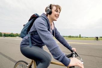 Musikhören auf dem Rad erhöht Unfallgefahr