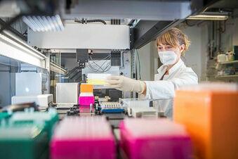 Dresdner Biotechnologen lesen das Virus