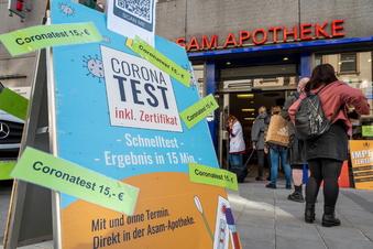 Corona-Inzidenz klettert in Sachsen auf über 100