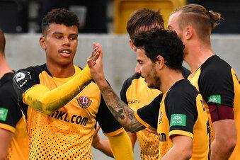 Seine perfekte Woche: Vertrag, Tor, Sieg mit Dynamo