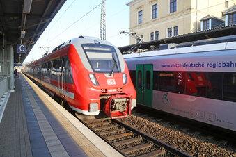 Züge nach Riesa und Großenhain fahren weiter