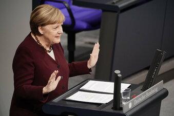 """Merkel: """"Dass wir füreinander einstehen"""""""