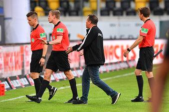 Wird Dynamo vom Schiedsrichter benachteiligt?