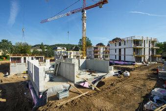 Erste Häuser auf Ex-Glasinvest früher fertig