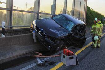 Tempo 100 auf Dresdner Autobahn soll Unfälle vermeiden