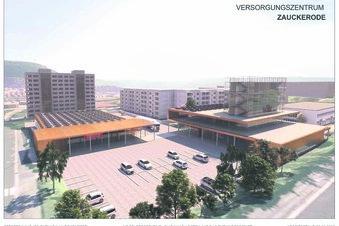 Investor plant Einkaufszentrum