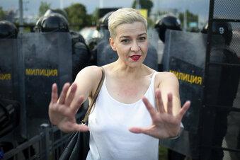 Belarus: Maria Kolesnikowa festgenommen