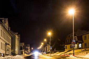 Gemeinden sparen beim Straßenlicht