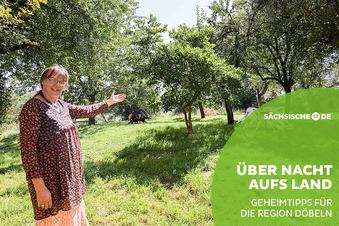 Auszeit unter Apfelbäumen in Marschwitz