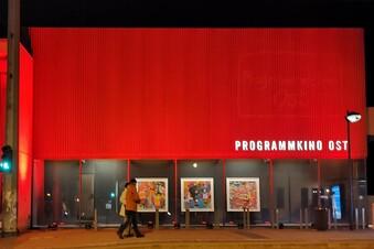 Dresdner Kinos leuchten für die Hoffnung