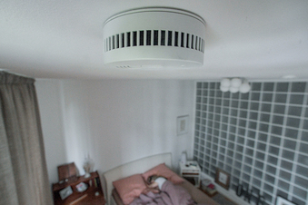 Rauchmelder-Alarm rettet schlafende Familie in Dresden