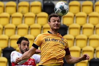 Fehlt Dynamos Kapitän im Abstiegskrimi?