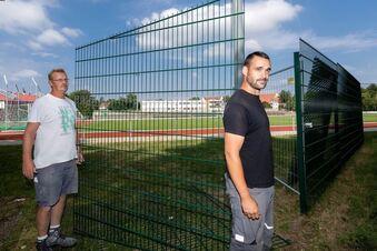 Baustelle Wesenitzsportpark