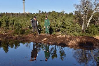 Mehr Wasser fürs Georgenfelder Hochmoor