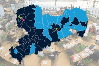 Sachsens neue politische Landkarte