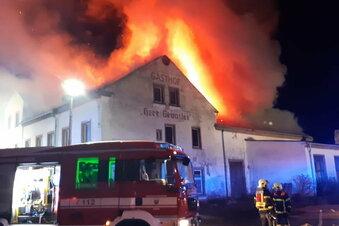 Brand: Keine Spur zu Tätern