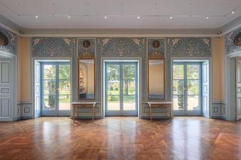 Neue Ausstellung im Pillnitzer Kaiserzimmer