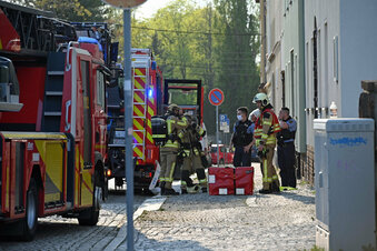 Brand in Hainichener Asylunterkunft